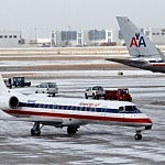 2nd Winter Storm Halts American Airlines In Abilene