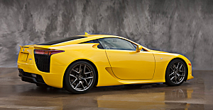 Lexus LFA Sports Coupe Screenshot