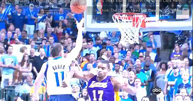 bynum elbowing