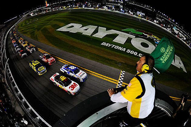 Daytona 500 Green Flag Drops