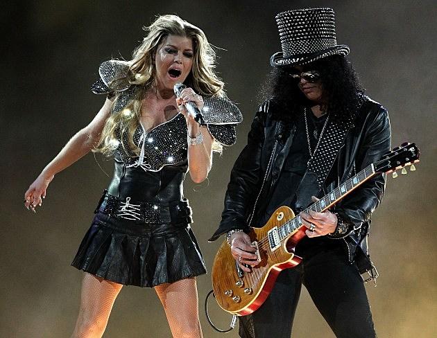 Slash With Black Eyed Peas