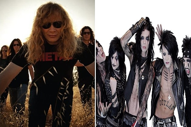 Cage Match: Megadeth vs Black Veil Brides