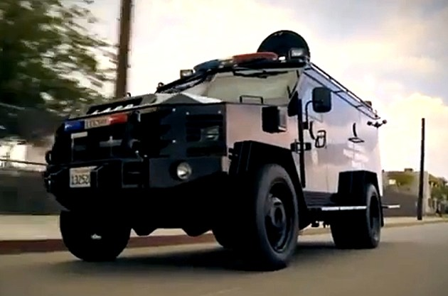 Lenco Bearcat Armored Vehicle