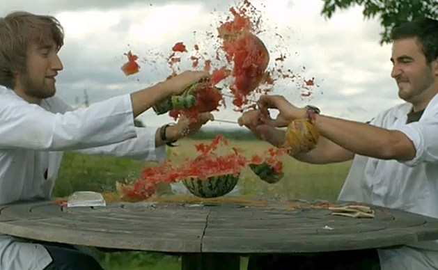 Exploding Water Melon