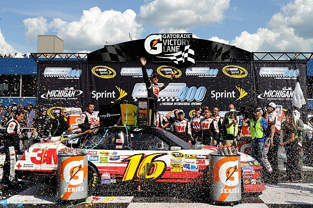 Greg Biffle Wins Pure Michigan 400
