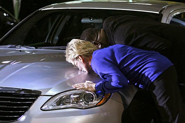 Kissing a Car