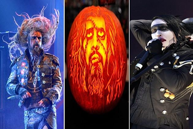 Zombie, Pumpkin and Manson