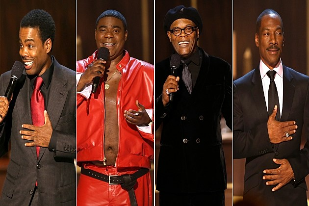 Chris Rock, Tracy Morgan, Samuel L. Jackson and Eddie Murphy