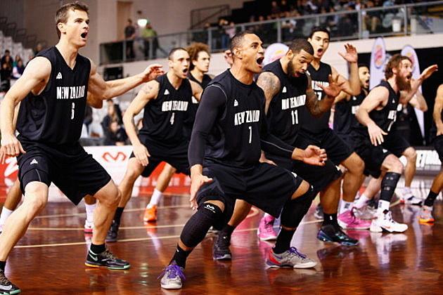 New Zealand Basketball Haka Dance