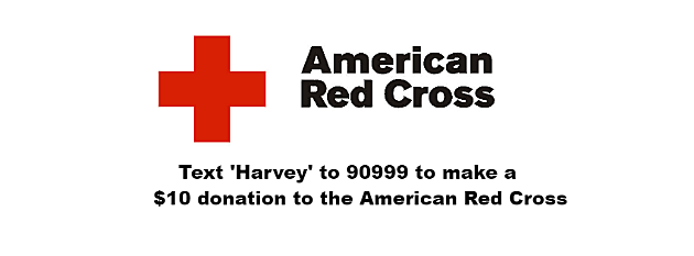 Hurricane Harvey-Red Cross